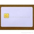 SLE5528 Secure Memory Smart Card (White