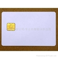 SLE5528 Secure Memory Smart Card (White PVC Cards)