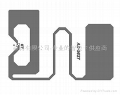 AZ9627 Wet Inlay EPC Gen2 H3 chips