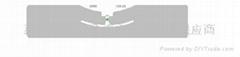 UHF AZ-9654干湿INLAY超高频不干胶电子标签 (热门产品 - 3*)