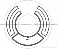RFID CD Label for DVD