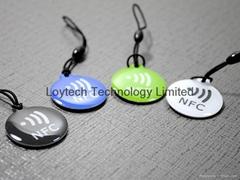 NFC Epoxy Key Tag