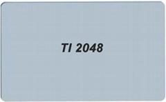 TI 2048 PVC卡 TI 2048 白卡