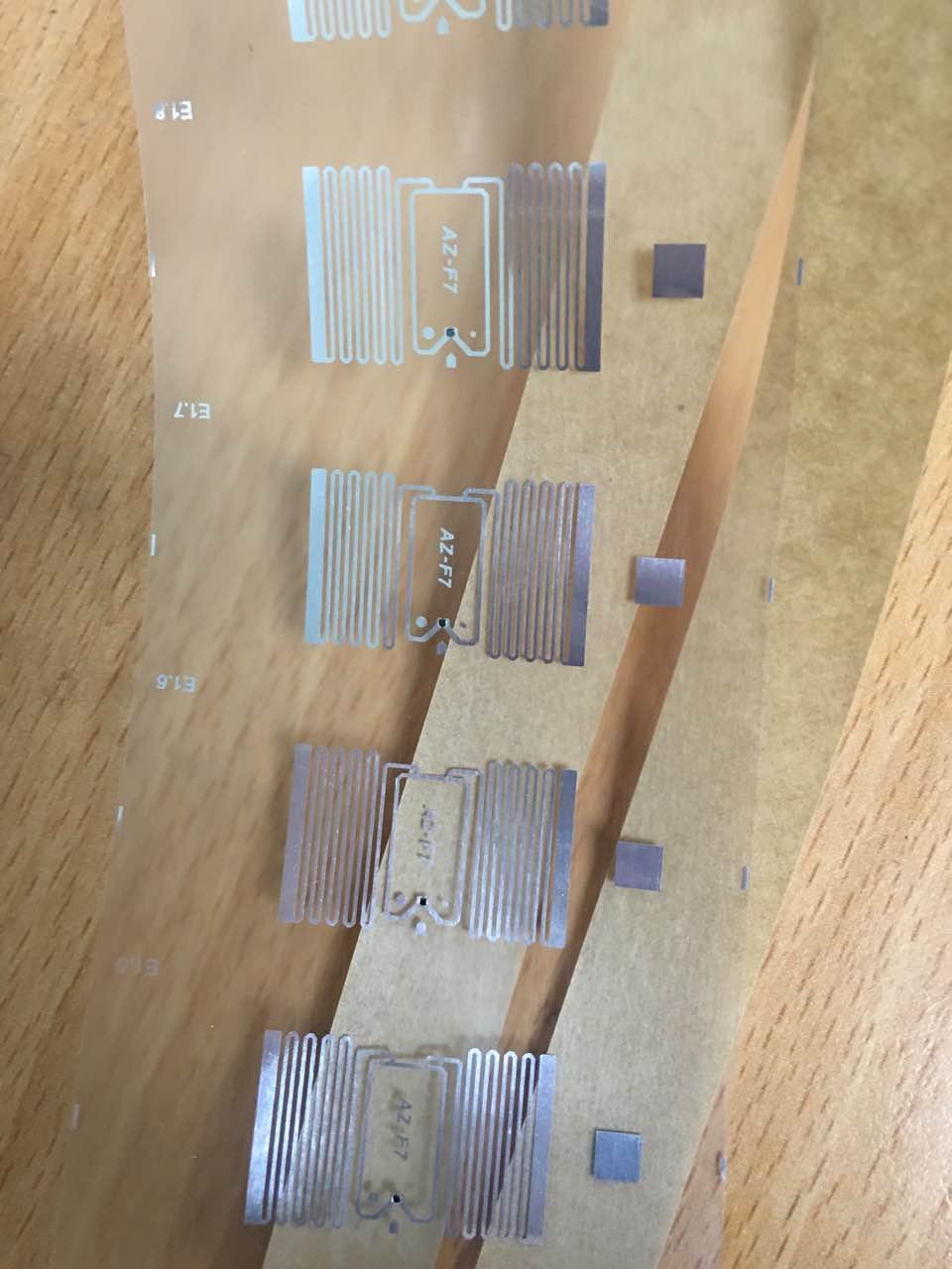 AZ-F7 U-CODE7 26x16mm 超高频干inlay rfid电子射频智能标签 1