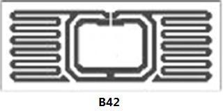 AZ-F7 U-CODE7 26x16mm 超高频干inlay rfid电子射频智能标签 5