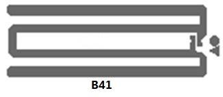 AZ-F7 U-CODE7 26x16mm 超高频干inlay rfid电子射频智能标签 7