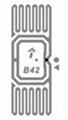 AZ-F7 U-CODE7 26x16mm 超高频干inlay rfid电子射频智能标签 8