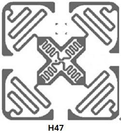 超高频inlay H47 1