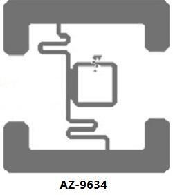 AZ-9634 Wet Inlay 超高頻不干膠標籤 1