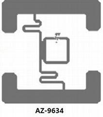 AZ-9634 Wet Inlay 超高頻不干膠標籤