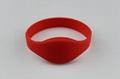 RFID silicone wristband RFWD0072T