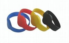 RFID硅膠手腕帶RFWD0064T / RFWD0072T