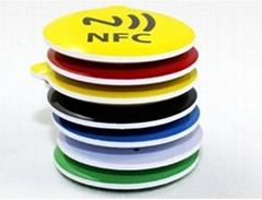 NFC滴膠鑰匙扣