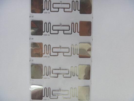 AZ-9662 Wet Inlay超高頻電子標籤 1