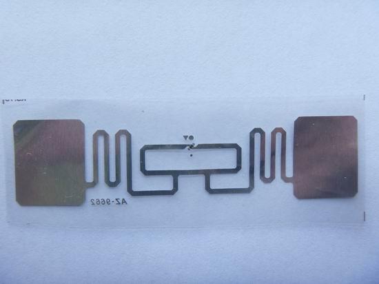 AZ-9662 Wet Inlay超高頻電子標籤 2