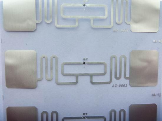 AZ-9662 Wet Inlay超高頻電子標籤 4