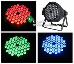 54pcs tri color led par light   (GL-075)