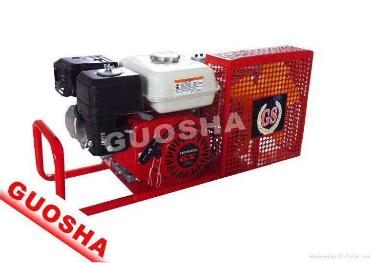 国产小型消防呼吸空气充气泵 1