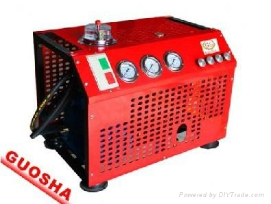 30MPA自动停机型消防呼吸高压压缩机GSV100 1