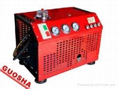 30MPA自动停机型消防呼吸高压压缩机GSV100