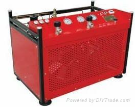 30兆帕消防供气站用高压呼吸空气压缩机 1