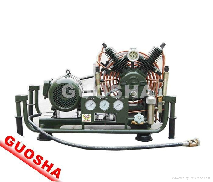 300公斤消防呼吸用的高压呼吸空气压缩机VF-206 1