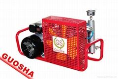 便携式潜水呼吸充瓶用的空气压缩机GSX100