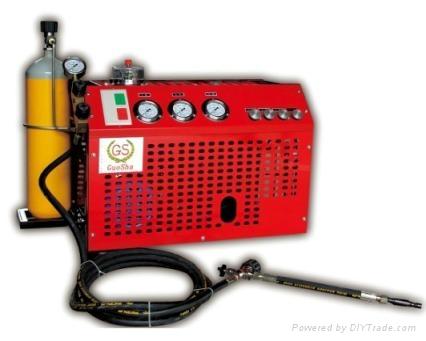 30MPA汽车改装CNG检测高压空气压缩机 1