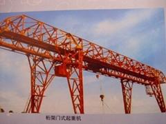 5、10吨MH型电动葫芦门式起重机(桁架)