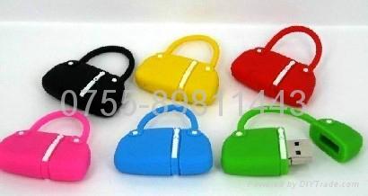 mini handbag usb flash disk 1