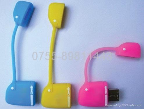 mini handbag usb flash disk 2