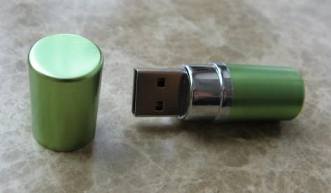 lipstick usb flash disk shell 3