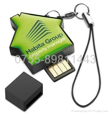 houselet usb flash disk shell 1