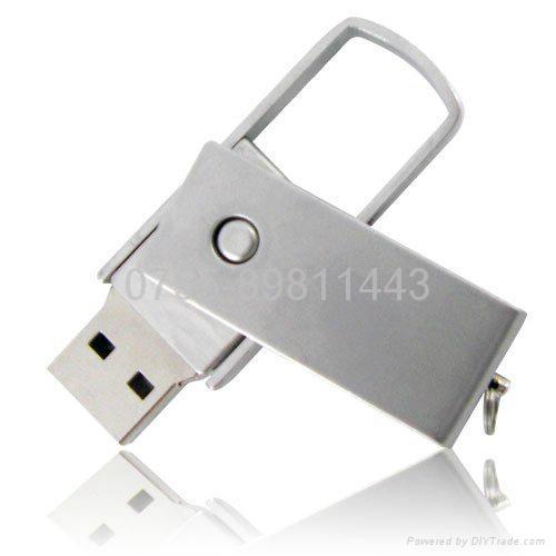 metal whirl usb flash disk shell 1