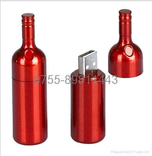 迷你红酒瓶U盘 3