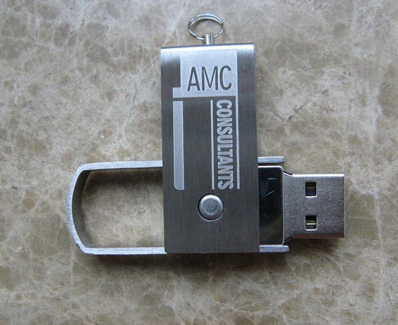 metal whirl usb flash disk shell 4