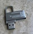 metal whirl usb flash disk shell 5