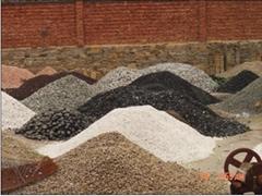 various colour pebbles