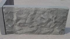 Gray sandstone pineapple surface