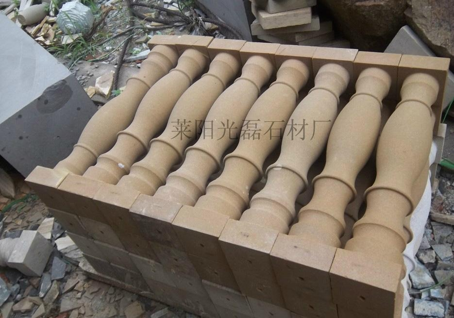 白砂岩花瓶柱 2