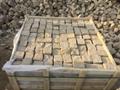 黄砂岩6面自然方块石 3