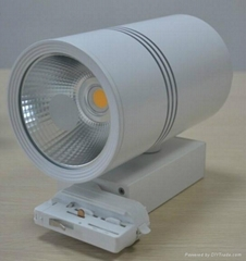 30W COB LED track light Sharp or Epistar Chip made by Okledlights