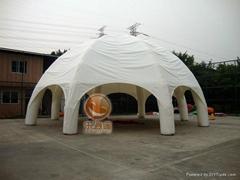 充氣展覽帳篷