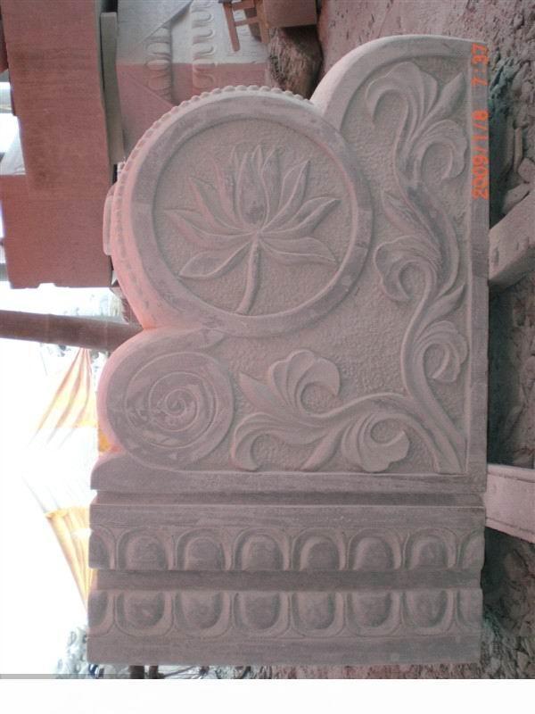 石雕抱鼓石 1