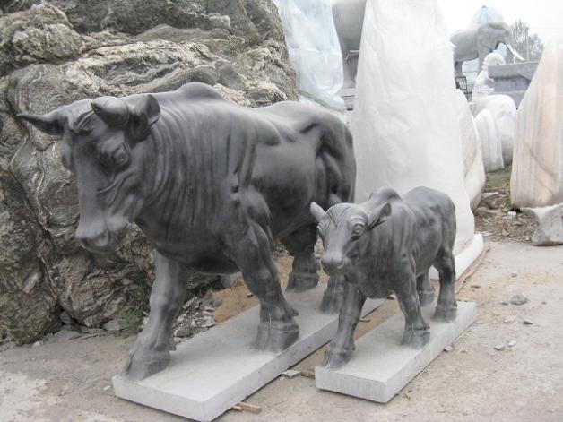 石雕牛 1