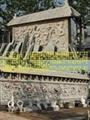 石雕九龙壁龙柱 3