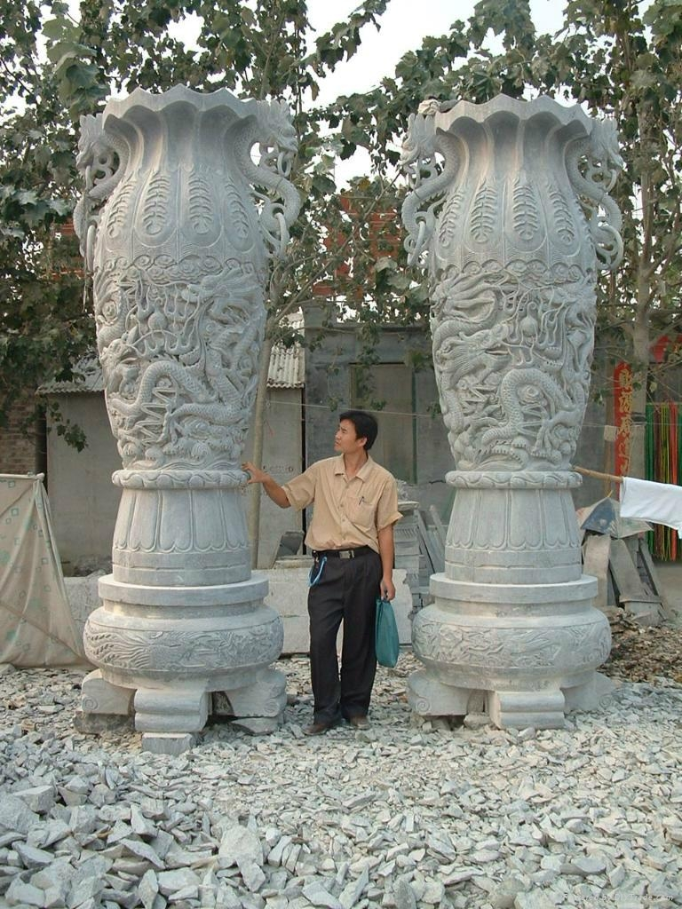 石雕宝瓶 4