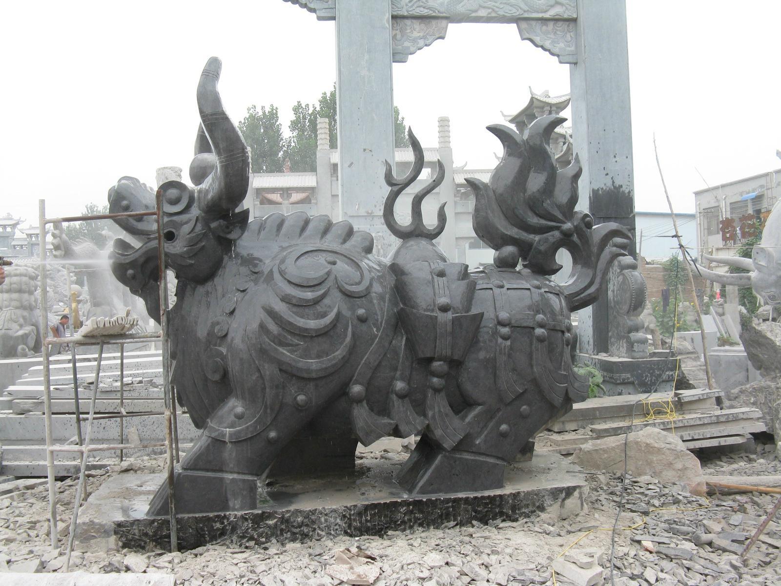 石雕牛 4