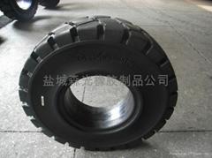 高耐磨叉车实心轮胎6.50-10