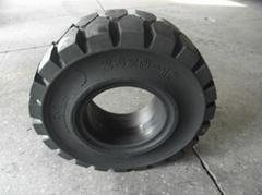 叉车实心工程轮胎23x9-10